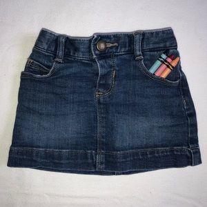 🍁SALE Toddler Old Navy Denim Skirt